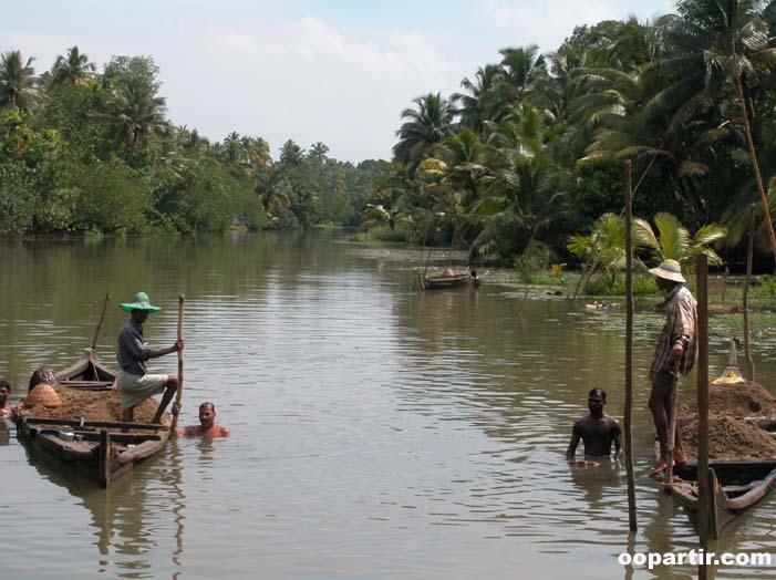 backwaters, Kerala ©  oopartir.com