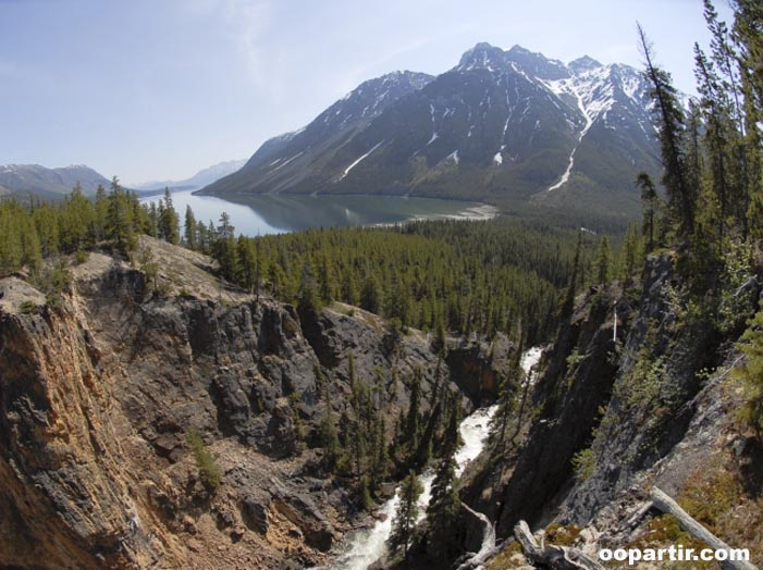 Lac Bennett  © Government of Yukon /  D Crowe