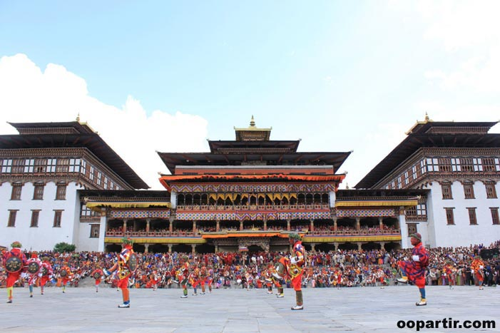 Timphu Tshechu festival © Tourism Council of Bhutan