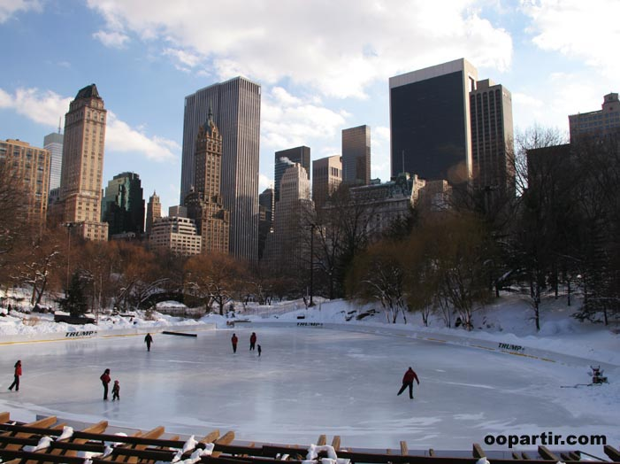 Central Park en hiver © Visit USA Committee