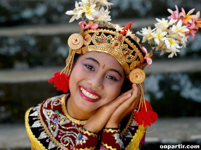 Costume traditionnel, Bali © Indonesia.Travel