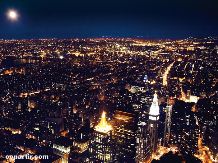 New York la nuit © Visit USA Committee