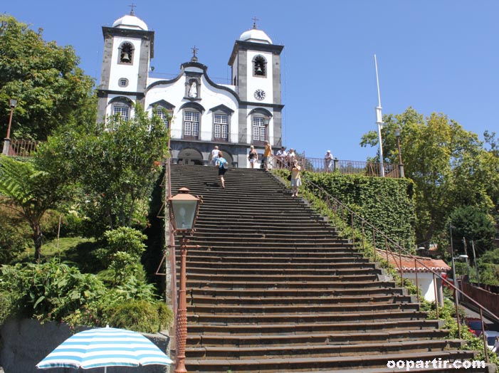 église do Monte, Funchal © oopartir.com