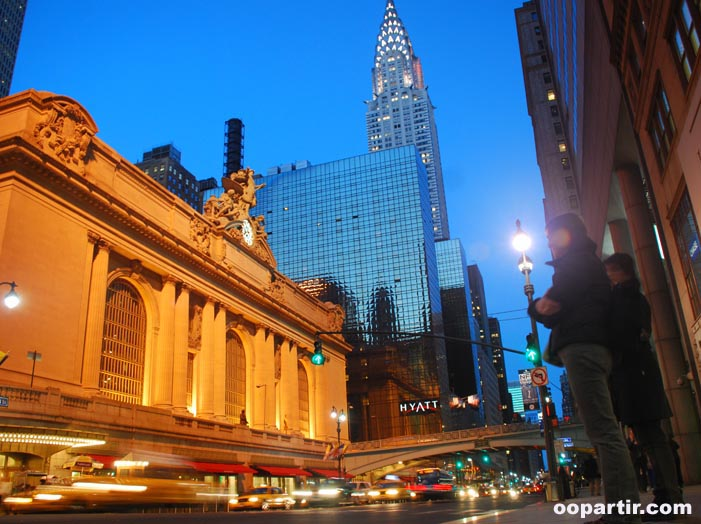 Grand Central et Chrystler Tower © Visit USA Committee