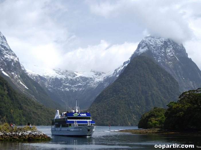 Fjord de l'Ile du Sud © Tourism New Zealand