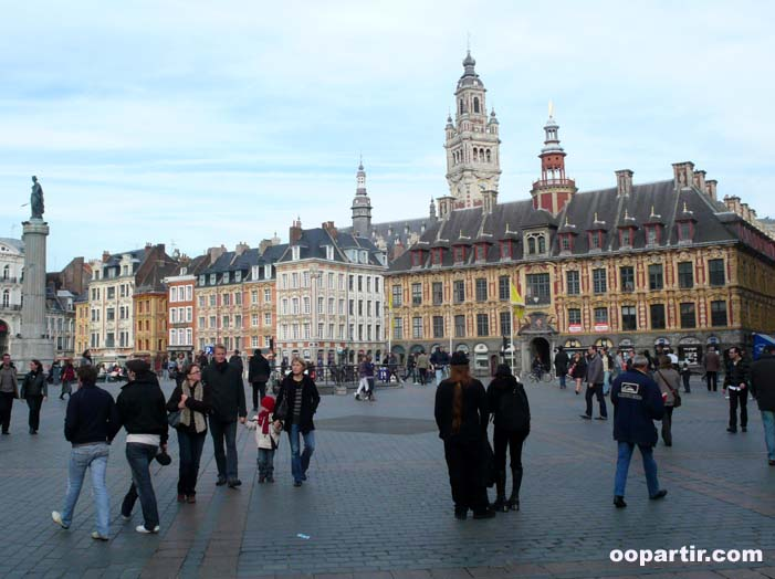 Grand'Place, Lille © oopartir.com