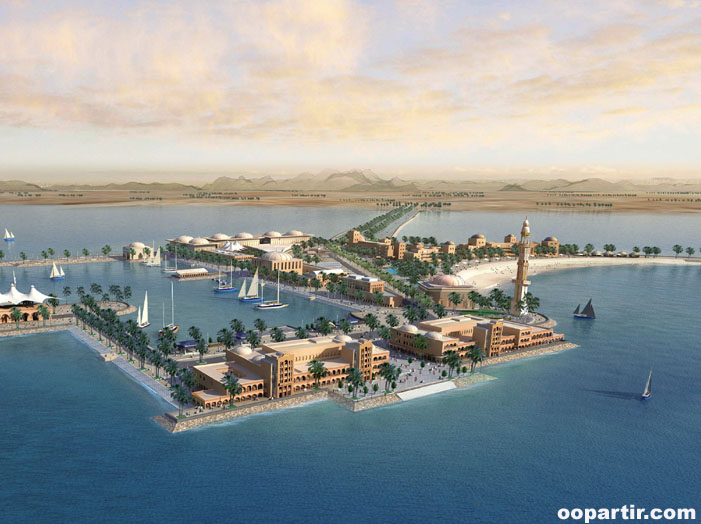 Projet de Marsa Jebal Dhanna © Abudhabi tourism Authority