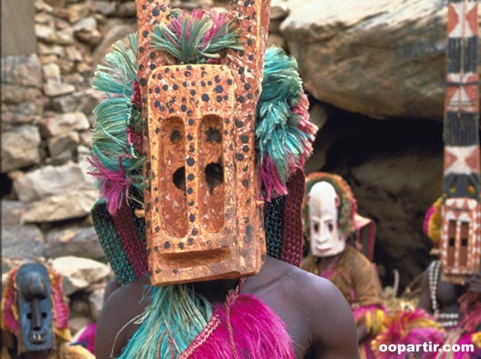 Masques dogon © Virginie Tremsal