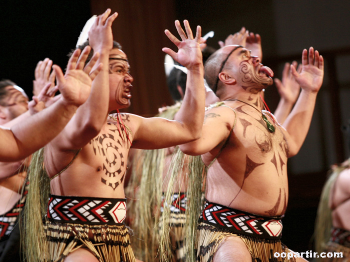 Danses maoris © Tourism New Zealand