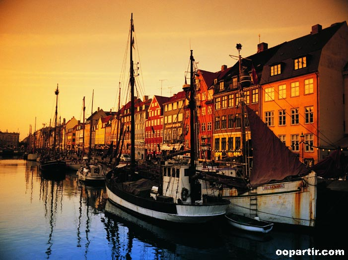 port de Nyhavn, Copenhague © oopartir.com