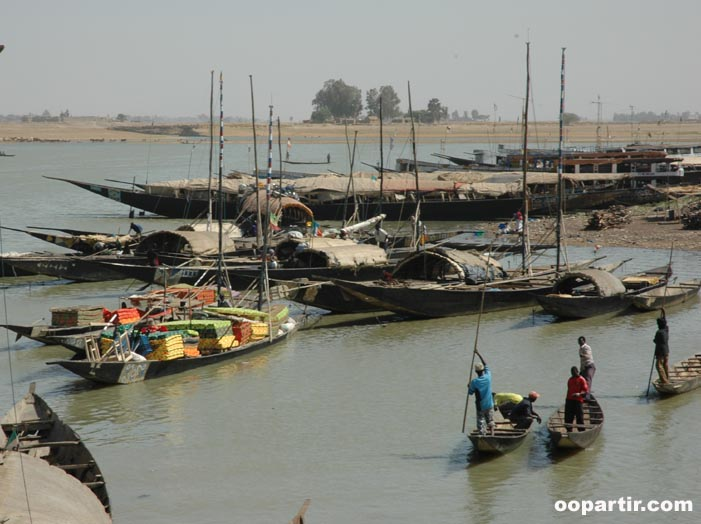 Port de Mopti © Virginie Tremsal