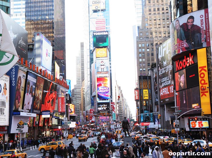 Times Square © Visit USA Committee