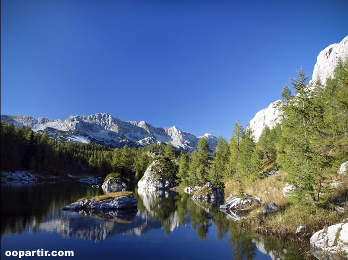 Parc national de Triglav, le Double Lac © KK